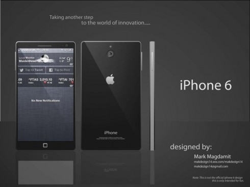 Wide iPhone 6 Design, Created by Mark Magdamit