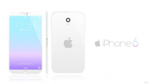 iPhone 6 Render is Minimalistic and Soulless Like iOS 7