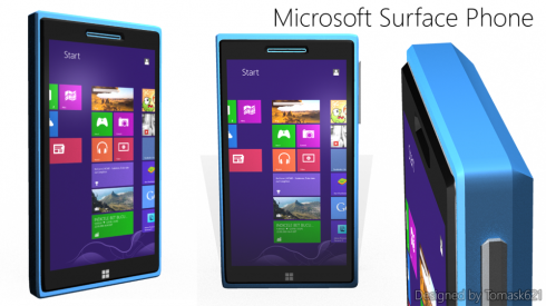 New Microsoft Surface Phone Runs Windows 8 Pro