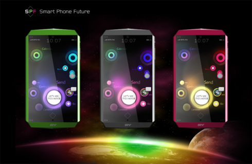 Virtual Touch Concept Smartphone of the Future