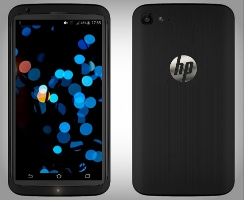 HP Brave Rendered Again, New Android Smartphone