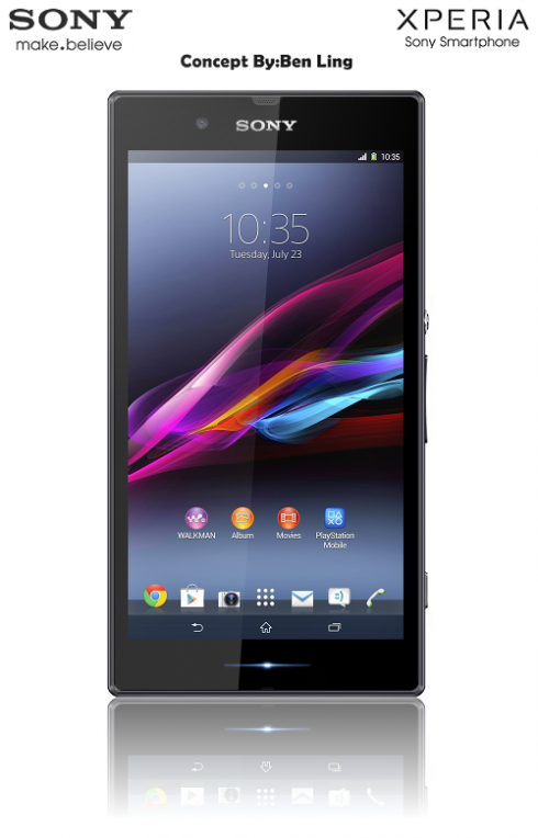 Sony Xperia ZX Concept