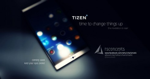 Concept Tizen Smartphone Gets Teased by Rahul Sharma, Looks Stunning
