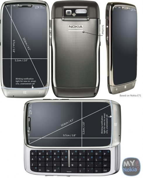 Nokia E71 Returns With Windows Phone 8 and Sliding Keyboard
