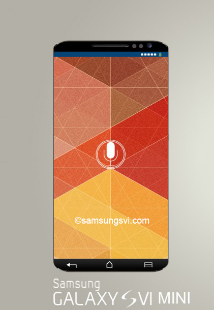Samsung Galaxy S6 Mini Render and Some Specs