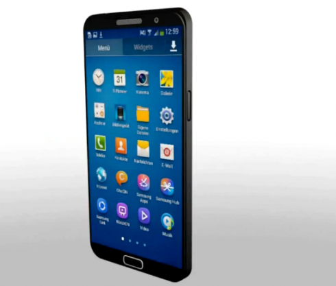 Samsung Galaxy Note 3 Concept Gets Rendered on Video