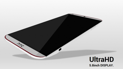 HTC One Ultra Features 64 Bit Processor, 4K Video Capture, Angular Design