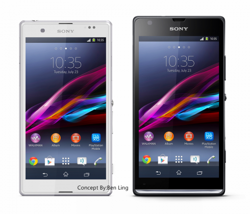 Sony Xperia ZP by Ben Ling Feels Like an Xperia Z Mini of Sorts