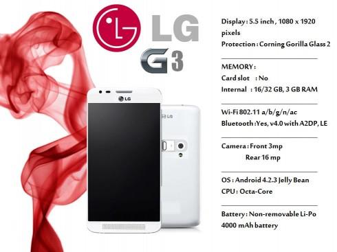 LG G3 concept