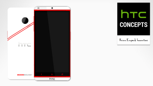 New Hasan Kaymak HTC Render Has racing Stripes, No More Beats Audio
