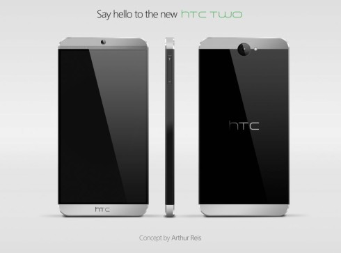 HTC Two Concept by Arthur Reis; Maybe This is the Way M8 Will Look?