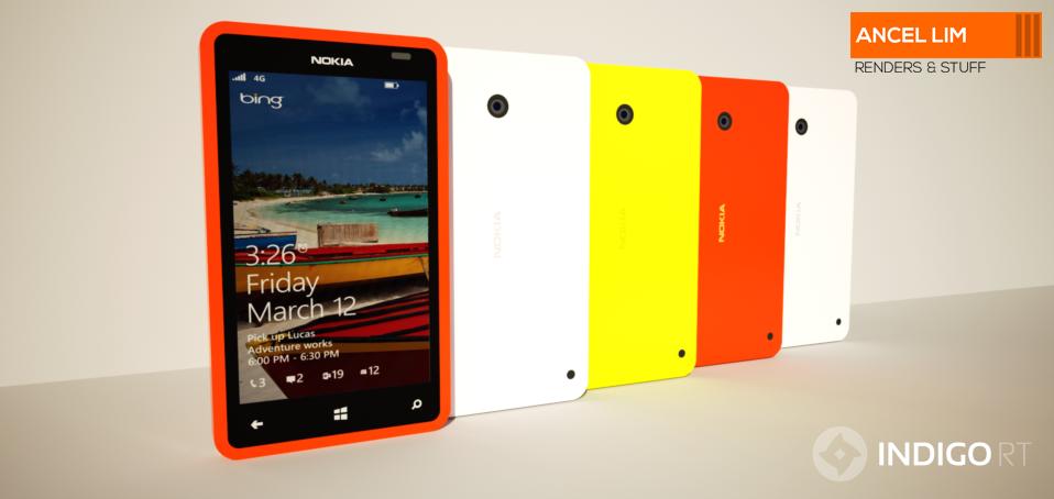 Nokia Lumia 1625 Nokia Lumia 420 Concept 1