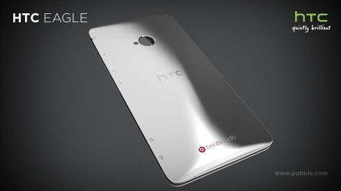 HTC Eagle is a Render Focused on Screen Protection; Titanium, Teflon and Gold Involved