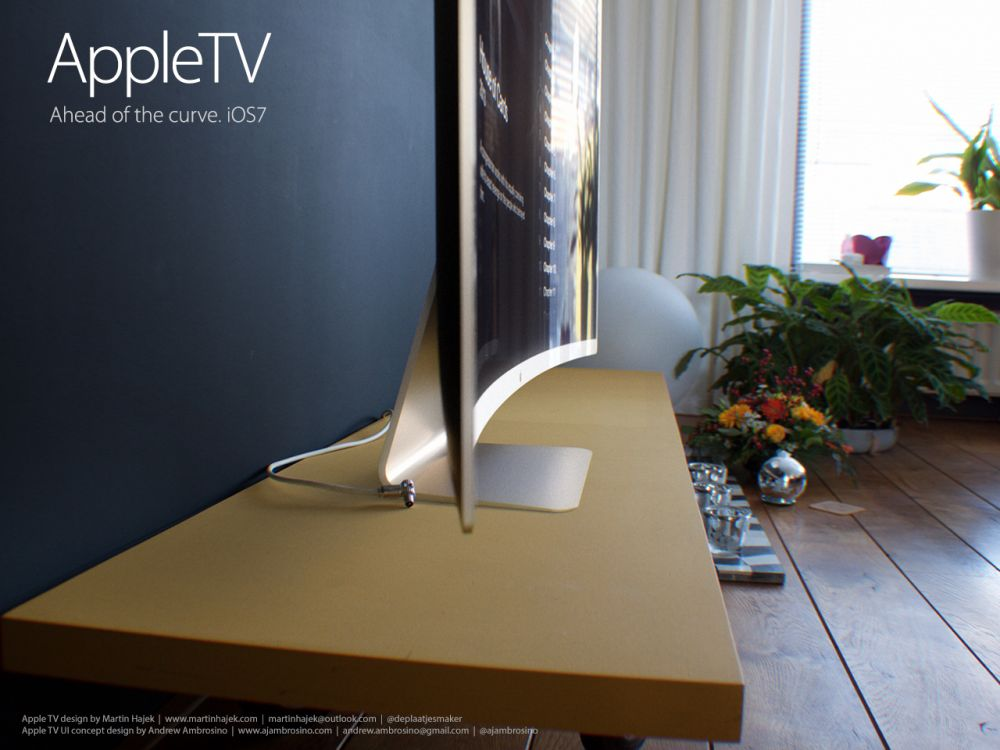 Apple Concept Phones Apple tv ui Concept 2