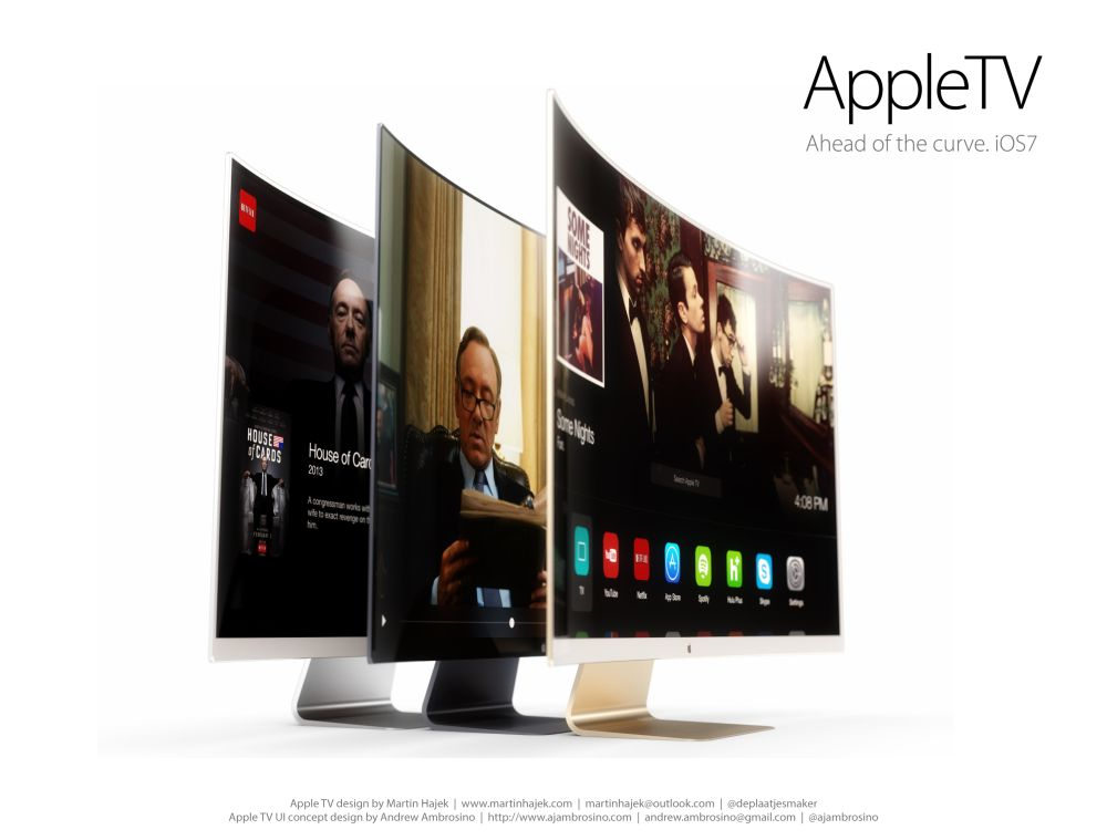 Apple Concept Phones Apple tv ui Concept 5