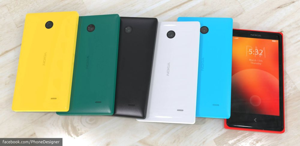 Nokia Normandy Android phone 9 – Concept Phones