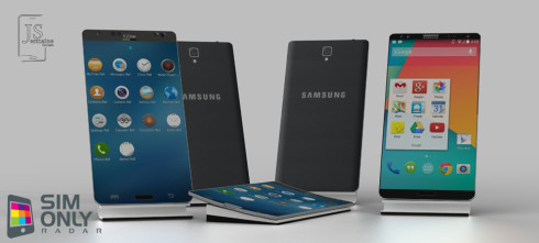 Samsung Galaxy S5 Renders Feature a Flex Version and a Normal One