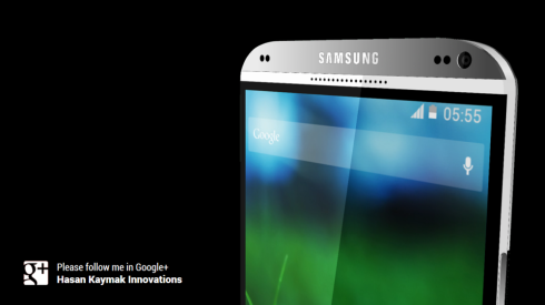 Hasan Kaymak Renders the Samsung Galaxy S5