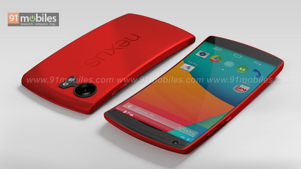 Google Nexus 6 New Render is Curved, Features 5.2 Inch ...