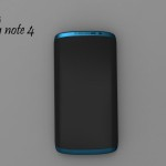 Samsung Galaxy Note 4 Rendered by Jermaine Smit, Based on Patent Leak