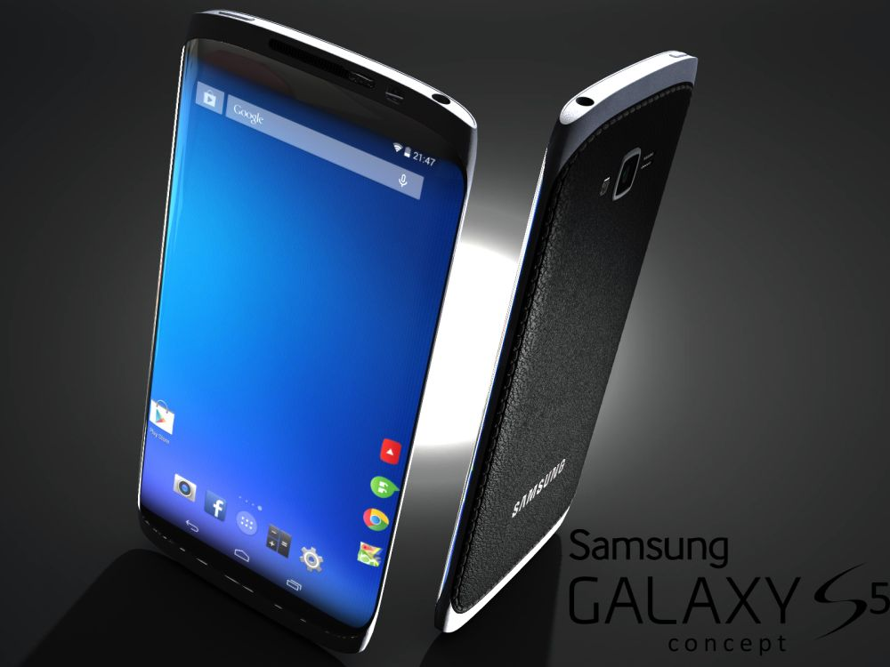 samsung galaxy s5 render concept phones. Black Bedroom Furniture Sets. Home Design Ideas