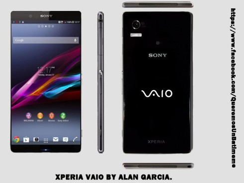 Sony Xperia Vaio Concept May Actually Happen, Maybe With Windows Phone