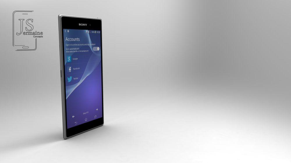 Xperia Z2 concept jermaine 7 – Concept Phones