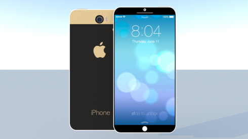 iPhone 6 iOS 8 concept 1