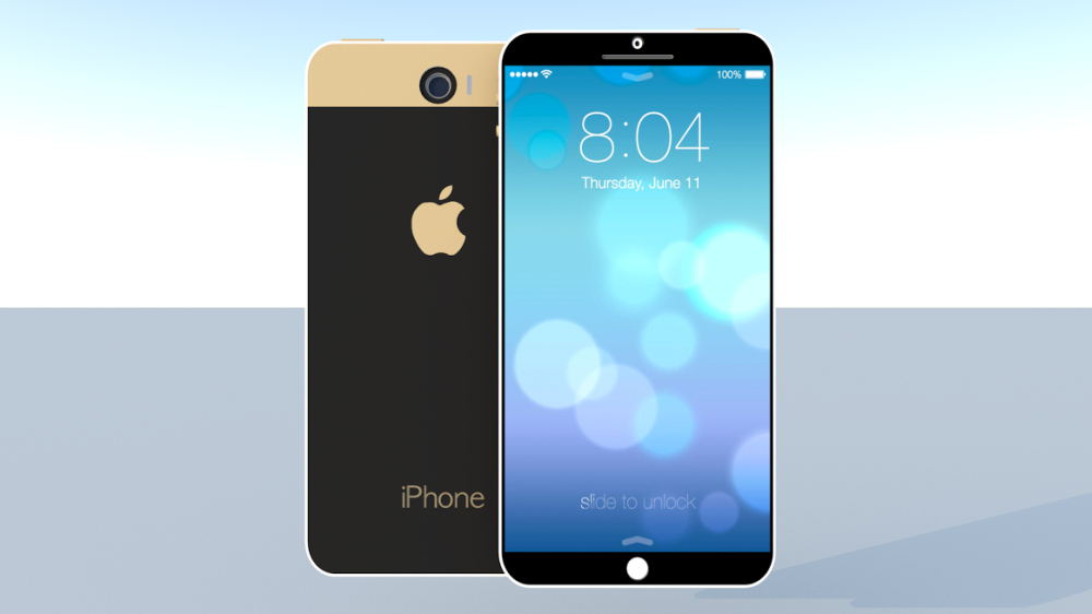 iPhone 6 With iOS 8 and 5.7 inch Display Envisioned  Concept Phones