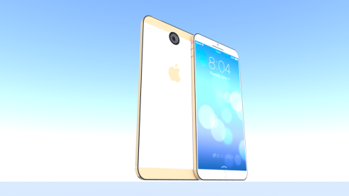 iphone 6 ios 8 concept 2