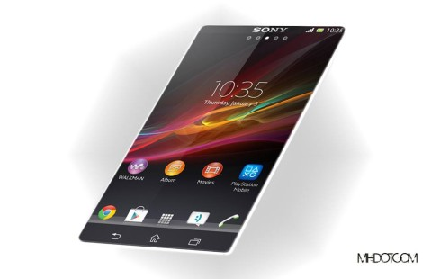 Sony Xperia Z2 Rendered by Mohammad Hossein