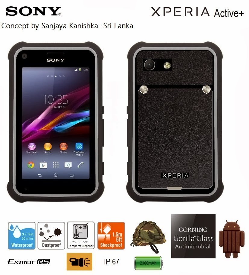 Sony Xperia Active Rugged Phone
