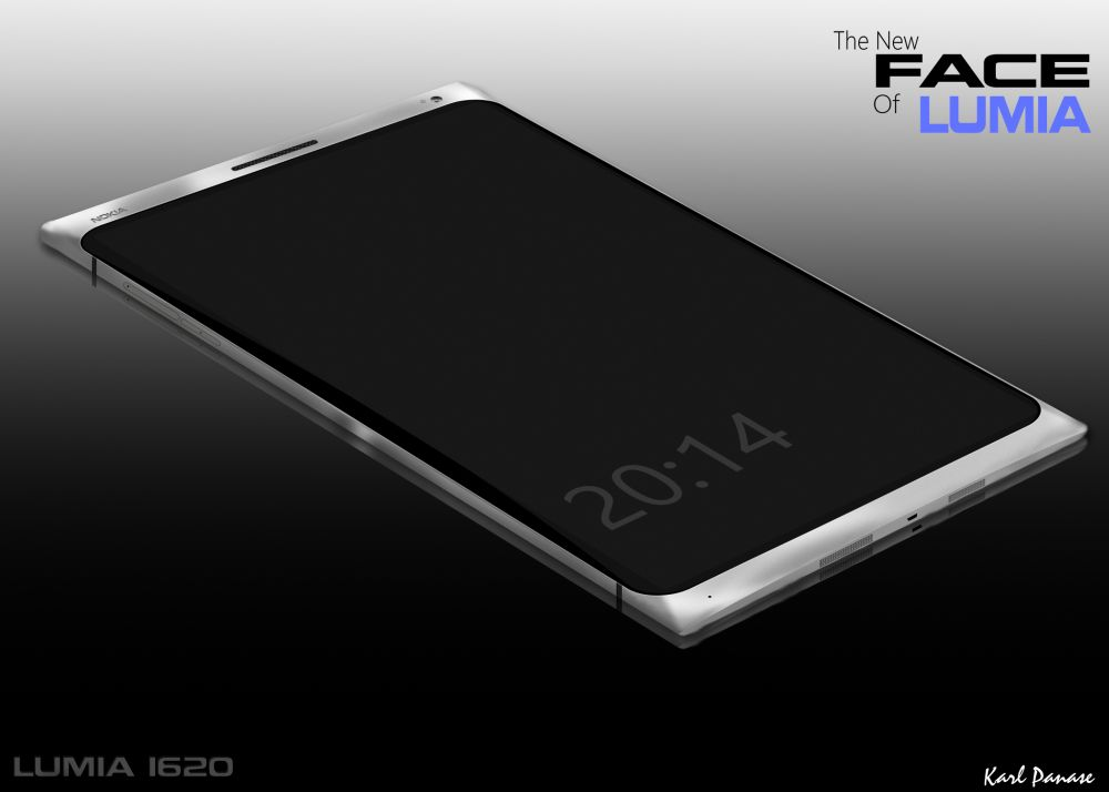 New Face of Lumia: Nokia Lumia 1620 Rendered, Features 2K ...