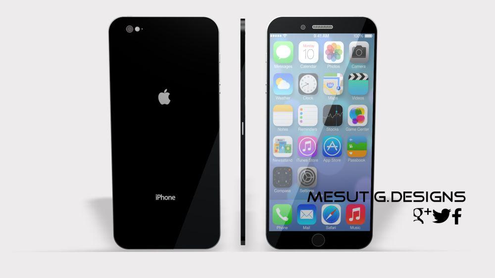 iPhone Air Saphir Concept Created by Mesut G.