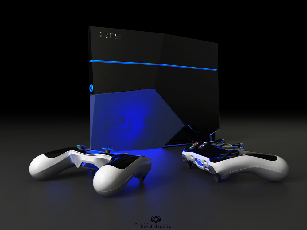 Probably the first playstation 5 concept is here for Console de jeux