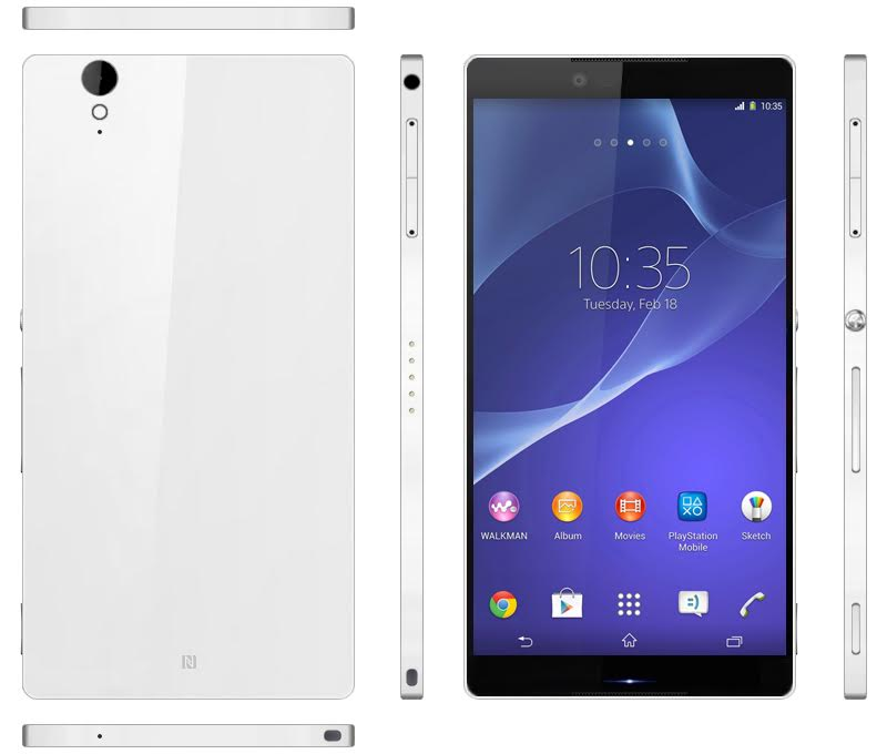 sony xperia z3 rendered early concept phones. Black Bedroom Furniture Sets. Home Design Ideas