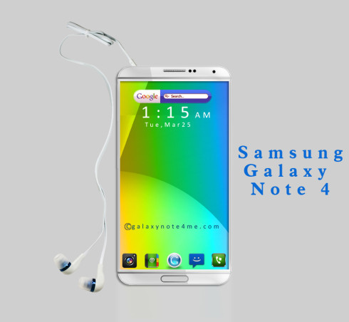 Samsung Galaxy Note 4 Gets Rendered, has Slim Bezels