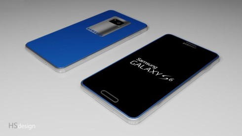 Samsung Galaxy S6 Combines Aluminum and Rubberized Plastic