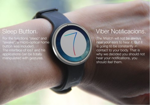 iWatch Design by Tomas Moyano Goes Beyond the Circle