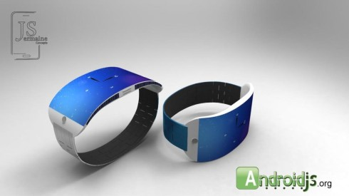 Jermaine Smits iWatch Mockup Charges With Solar Power; Just a Teaser for Now!