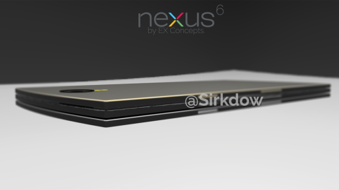 Nexus 6 Rendered by Sirkdow, is Basically a Slab of Metal