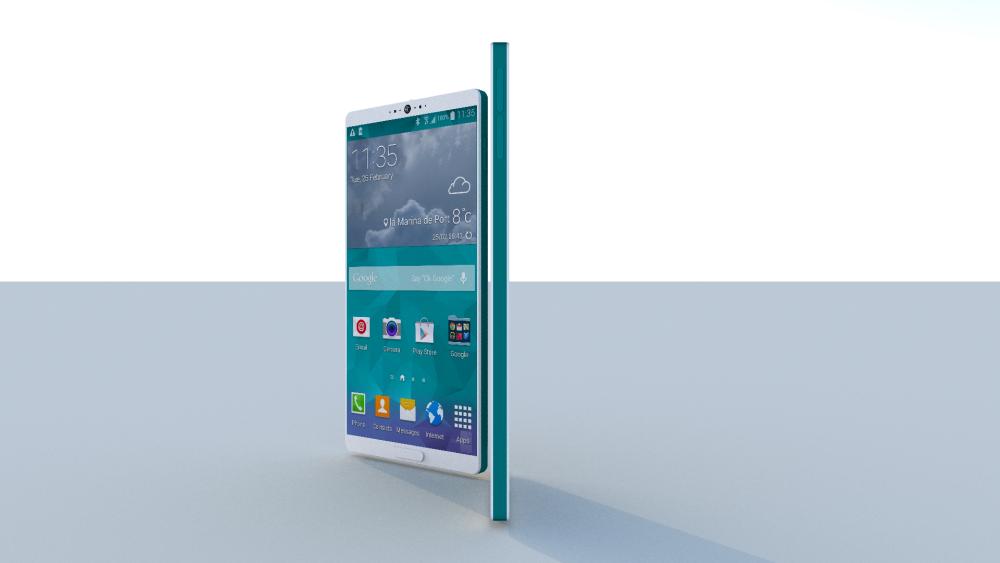 Samsung Galaxy S6 Design by Dani Yako is Totally ...