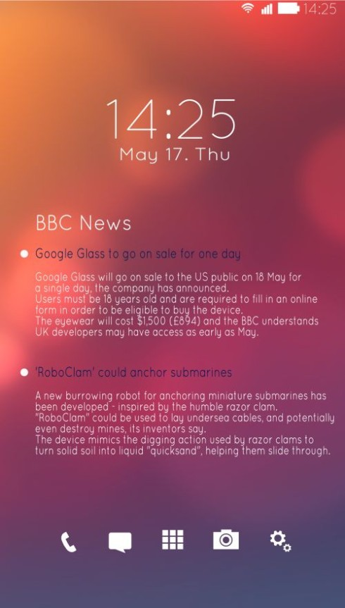 Samsung Galaxy Note 4 concept 6