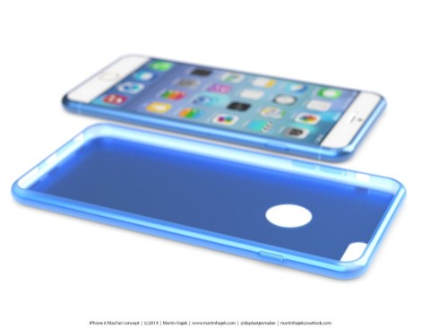 New iPhone 6 Design by Martin Hajek Features Edge to Edge Display