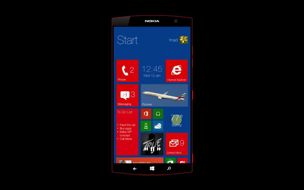 Nokia Lumia 1530 Concept Features 6 Inch Display 20 Mp