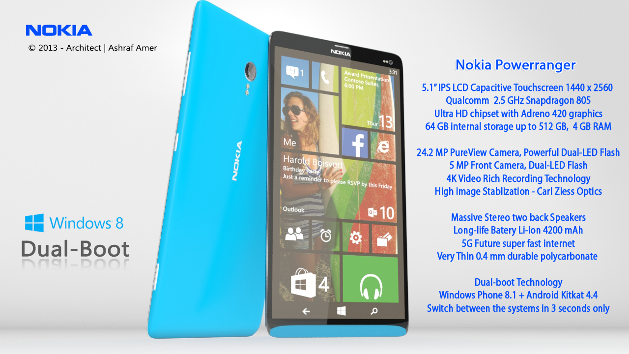 Phone Android Phones Price nokia power ranger is a dual boot smartphone with android 4 windows phone 4