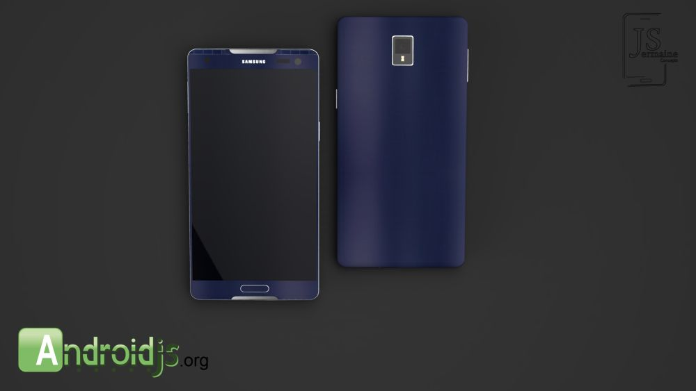 Samsung Galaxy S6 is Here, a Concept by Jermaine Smit ...