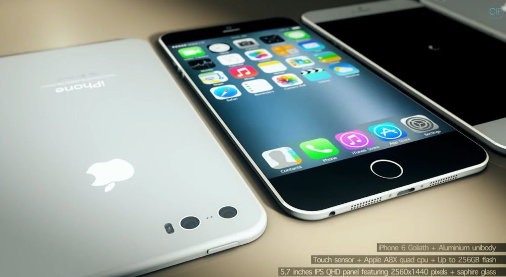 iPhone 6 Goliath Features 5.7 inch Display, 3D Camera Video