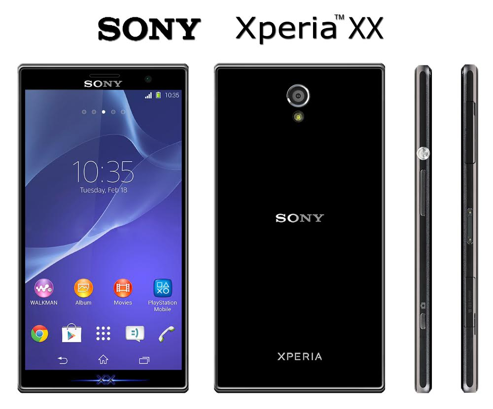 Sony Xperia XX Concept Feels Like an Xperia Z2 Compact in ...