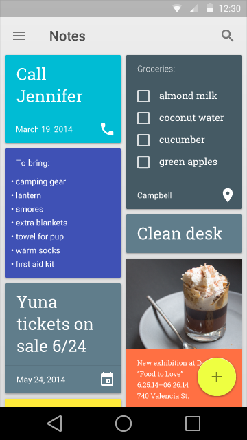Android L release First Interface Screenshots Analyzed